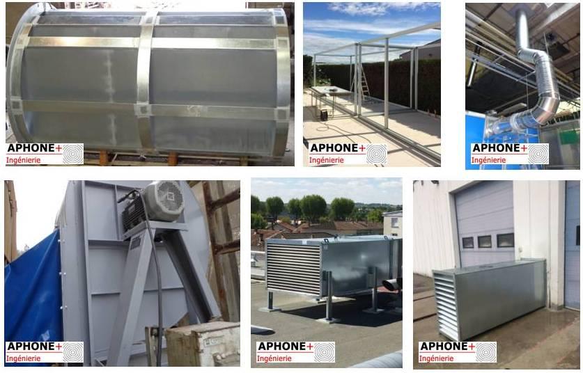 Silencieux Capot Ventilateur Réseau de ventilation